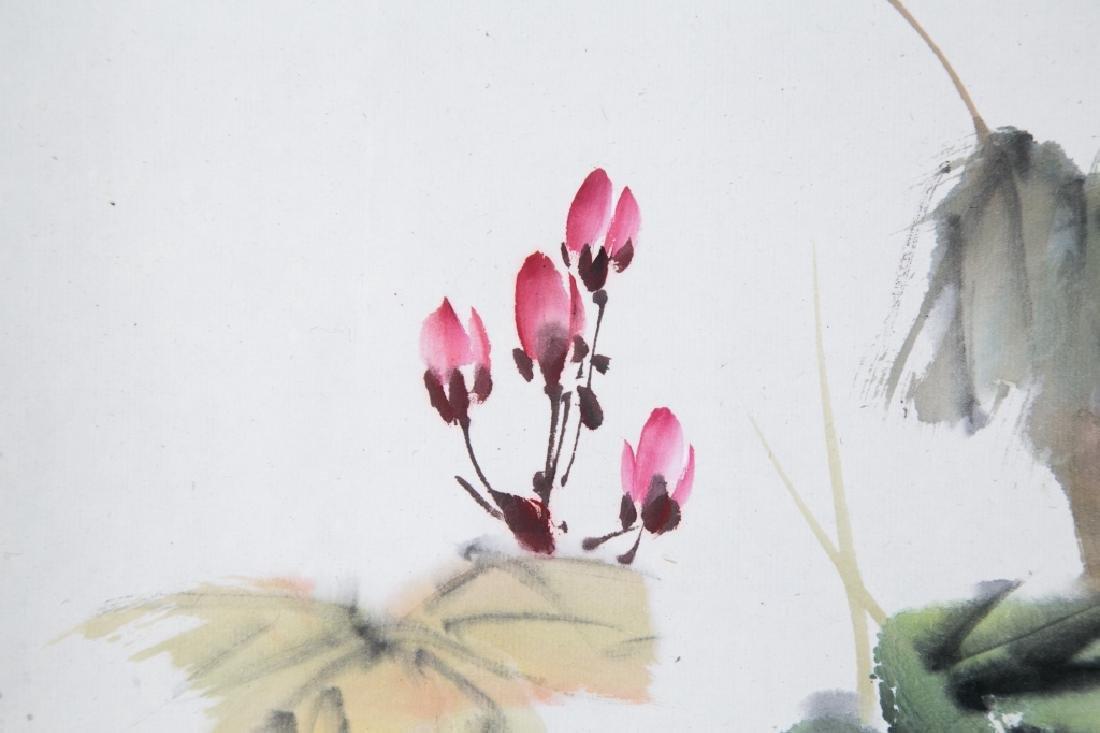 LIU ZIGU (1901-1986), BIRDS AND FLOWERS - 5