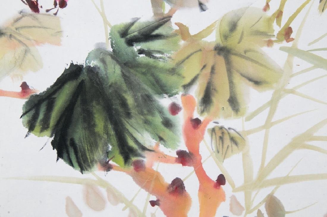 LIU ZIGU (1901-1986), BIRDS AND FLOWERS - 6