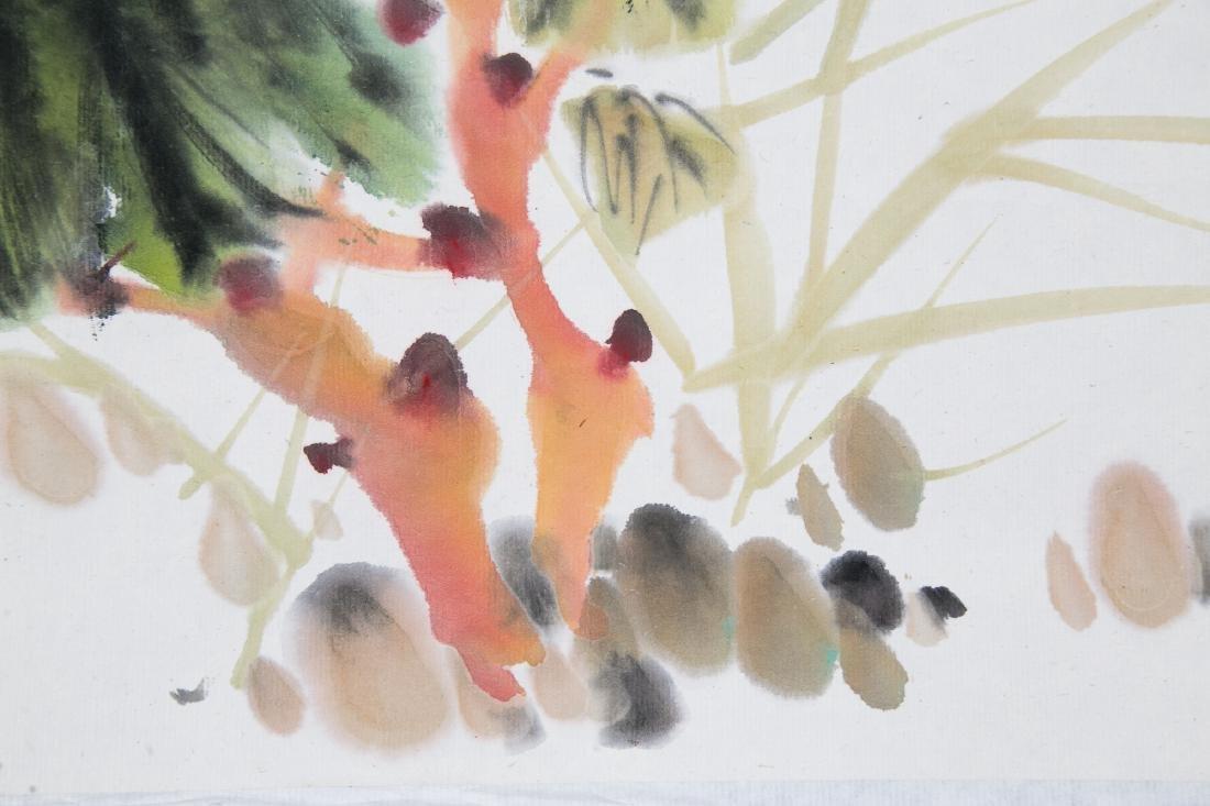 LIU ZIGU (1901-1986), BIRDS AND FLOWERS - 9