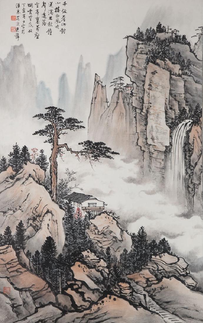 HUANG JUNBI (STYLE OF, 1898-1991), LANDSCAPE