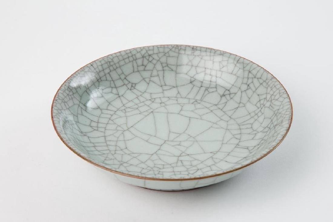 AN INMITATION GE BOWL WITH QING XUANDE MARK, QING