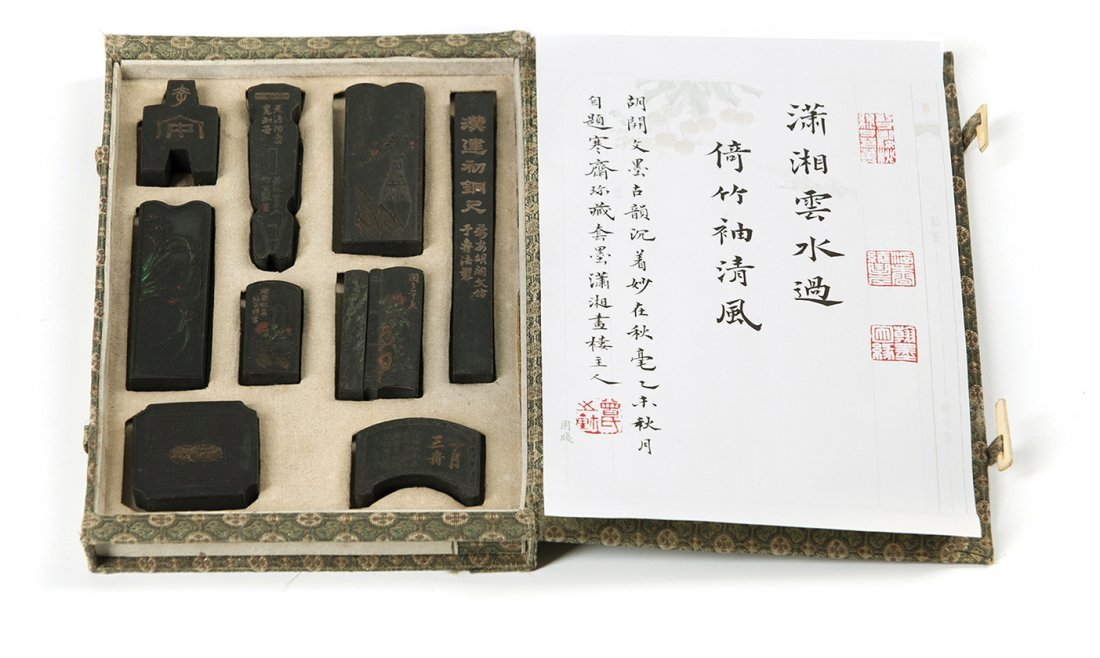 A SET OF CHINESE INK STICKS, 19TH / 20TH CENTURY