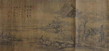 CHINESE PAINTING OF LANDSCAPE, ATTRI. TO DONGQICHANG