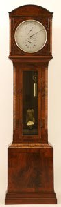 A Mahogany Cased English Regulator Signed For The