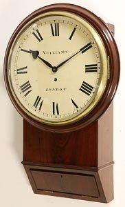 Vulliamy, London, No. 1011. A Mahogany Chisel Bottomed
