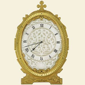 Cole, No 1135. A Small 30 Hour Strut Clock Retailed By