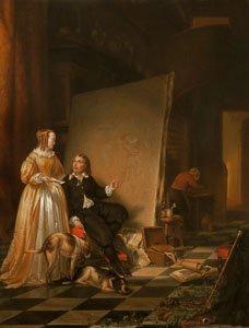 Johannes Christoffel Vaarberg - The Studio of Paulus