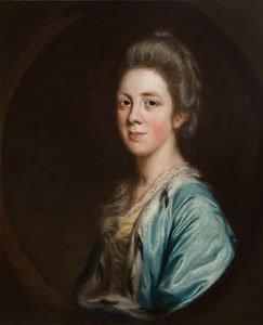 Sir Joshua Reynolds - Mrs. Letitia Sparrow