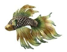 """JAY STRONGWATER JAPANESE FIGHTING FISH NAMOKO 21.5"""""""