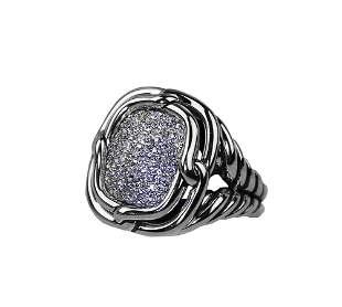 DAVID YURMAN  LABYRINTH DIAMOND 0.752 CTW RING 7