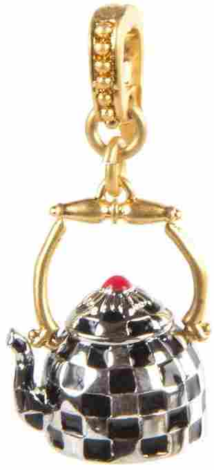 MacKenzie-Childs Tea Kettle Charm