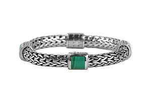 JOHN HARDY CLASSIC CHAIN WOVEN STERLING SILVER