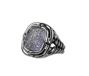 DAVID YURMAN  LABYRINTH DIAMOND 0.752 CTW RING 6
