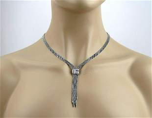 David Yurman with Tags Confetti Drop Necklace with