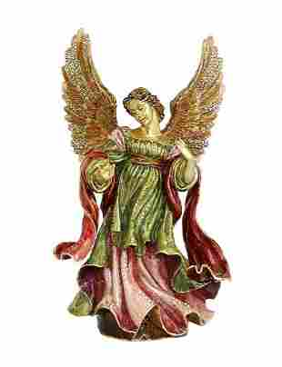 """JAY STRONGWATER 7,75"""" LARGE ANGEL FIGURINE"""