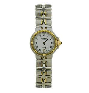Raymond Weil Ladies Parsifal 18k Gold Steel Watch