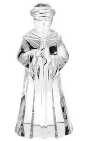 "BACCARAT CRYSTAL NATIVITY SCENE JOSEPH FIGURINE 7,25"""