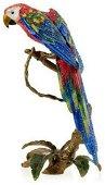 Jay Strongwater Skylar Macaw Figurine