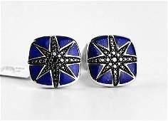 DAVID YURMAN NORTH STAR LAPIS BLACK DIAMOND  #653