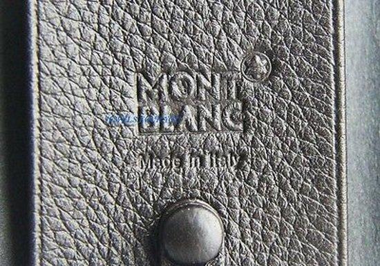 MONTBLANC LEATHER RANGE KEY CASE WALLET 103698 - 6