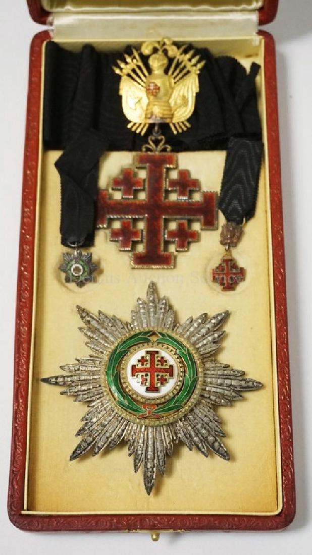 EQUESTRIAN ORDER OF THE HOLY SEPULCHRE OR JERUSALEM