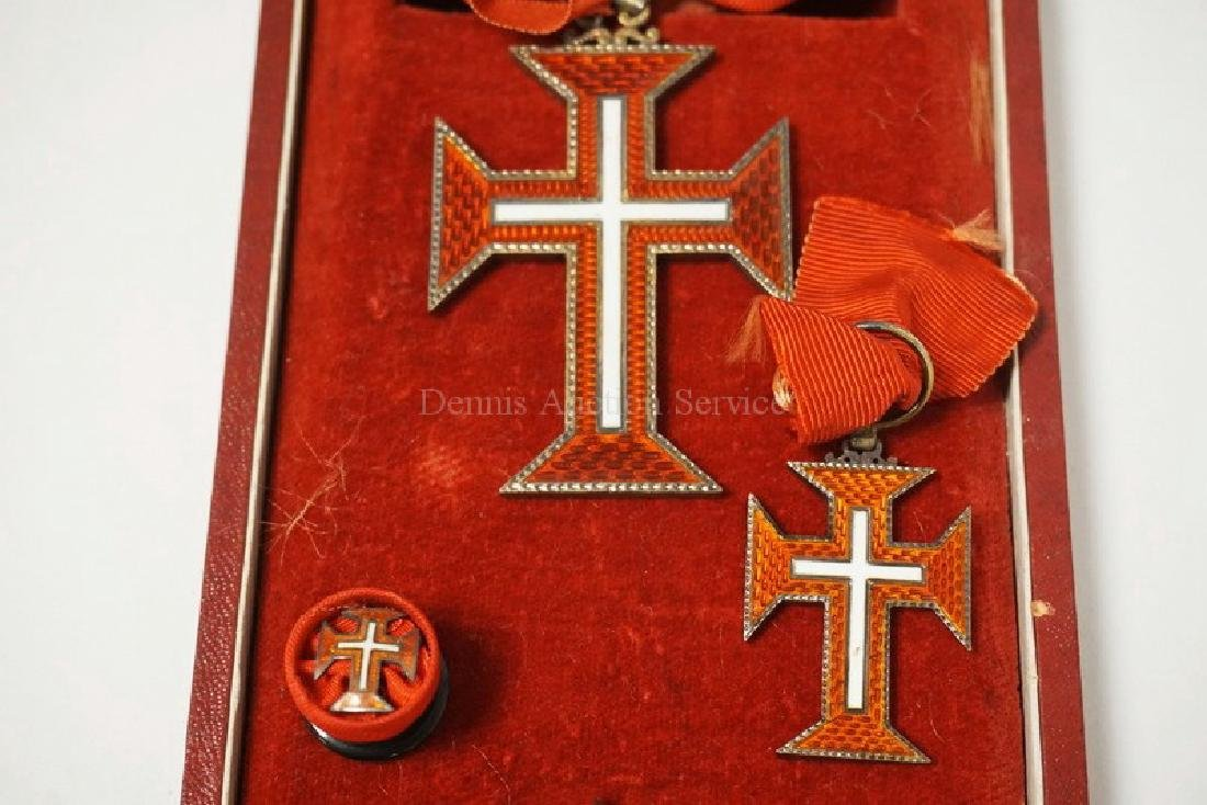 PORTUGUESE ORDER OF CHRIST GRAND CROSS SET - 3