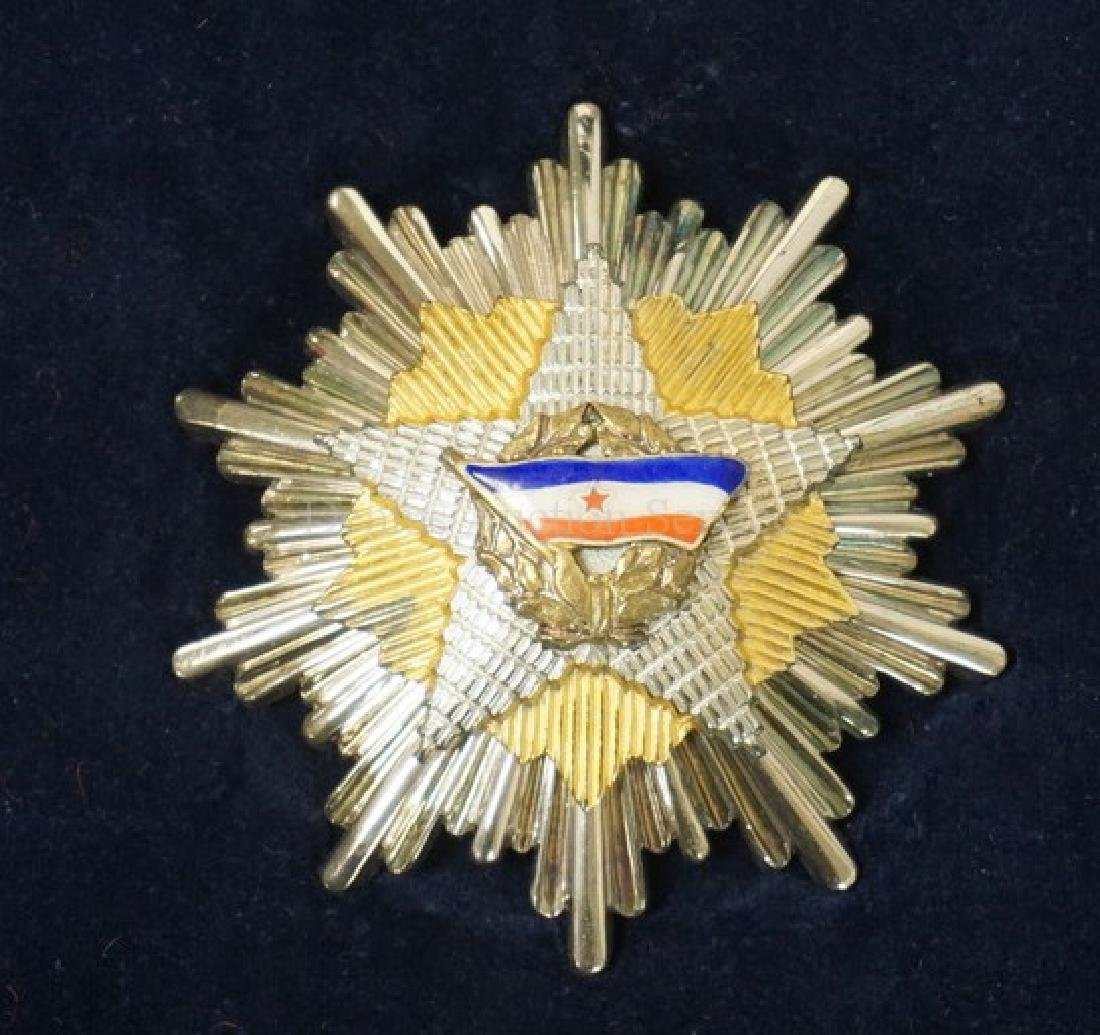 ORDER OF THE YUGOSLAV FLAG - GRAND CROSS SET IN BOX. - 2