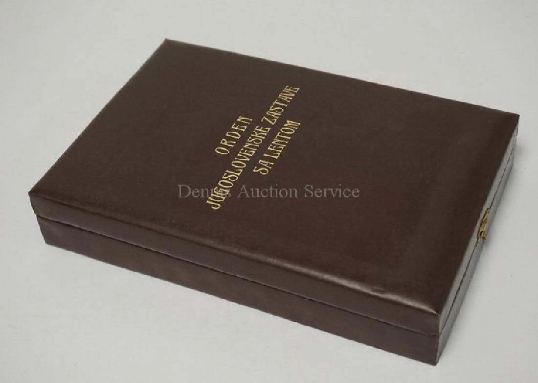 ORDER OF THE YUGOSLAV FLAG - GRAND CROSS SET IN BOX. - 5