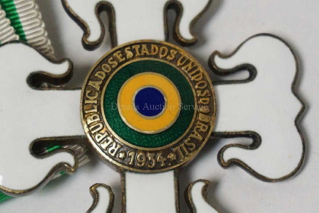 BRAZILIAN MILITARY ORDER OF MERIT - OFFICER. BREAST - 3