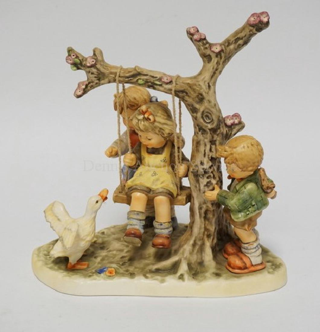 HUMMEL #2097 *CAN I PLAY* LIMITED EDITION FIGURE.