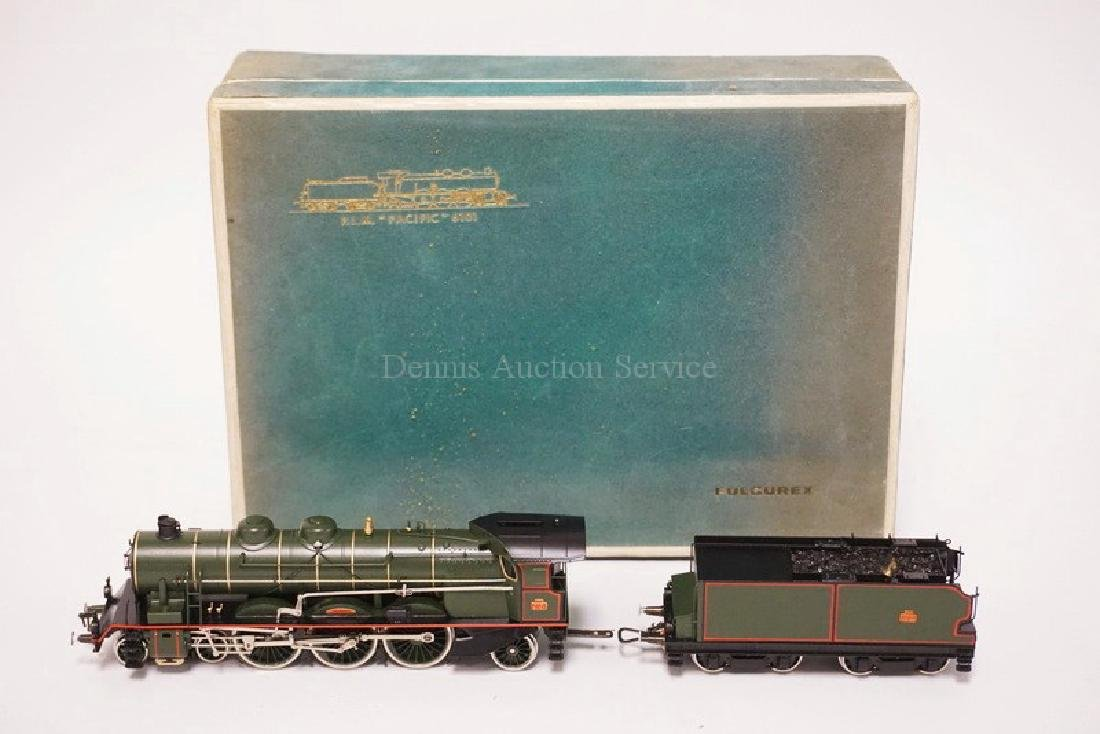 FULGUREX *P.L.M. PACIFOC 6101* LOCOMOTIVE & TENDER WITH