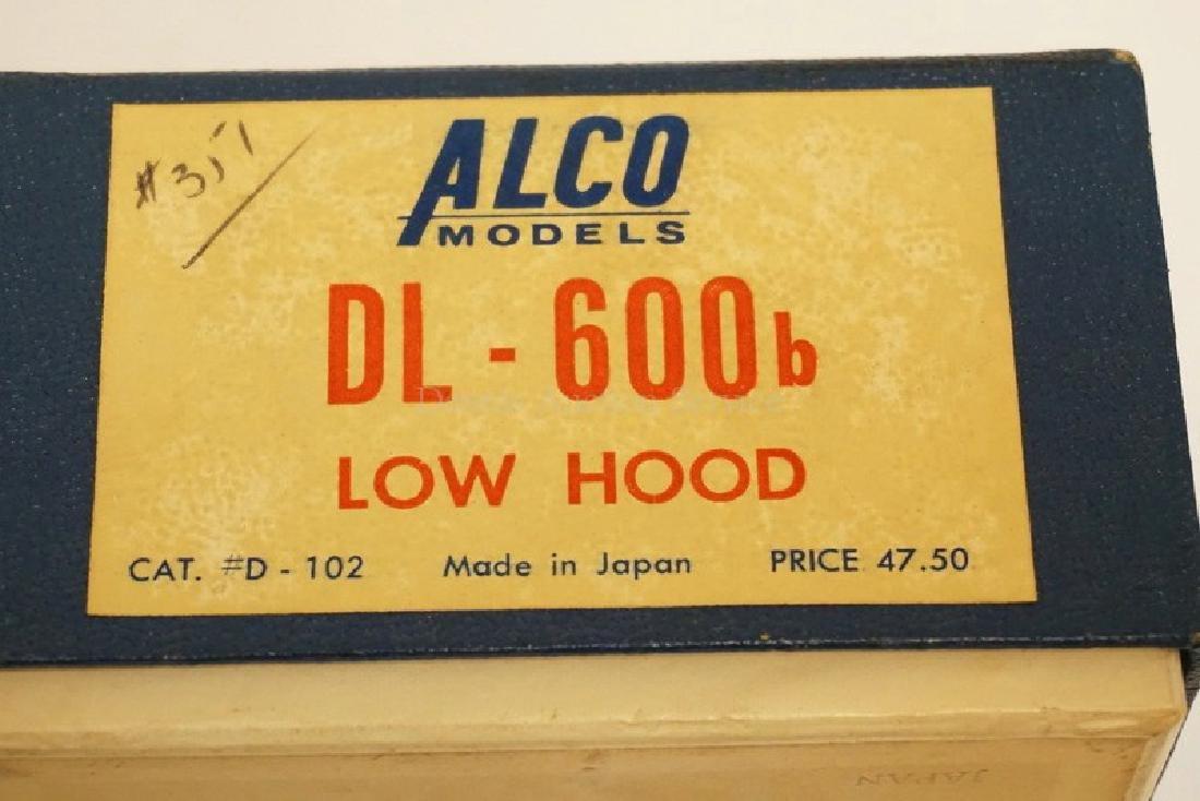 ALCO DL-600B LOW HOOD BRASS HO DIESEL LOCOMOTIVE - 4