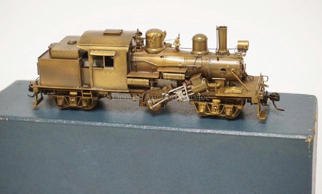 PFM UNITED HO SCALE BRASS *LOGGING CLIMAX CLASS C* - 2
