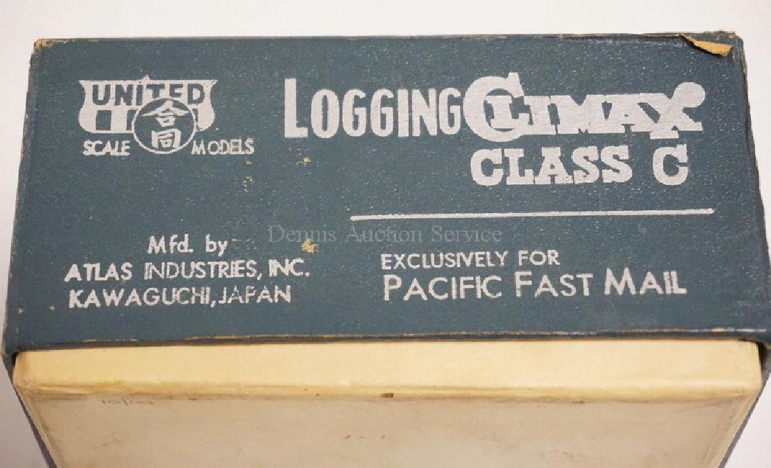 PFM UNITED HO SCALE BRASS *LOGGING CLIMAX CLASS C* - 4