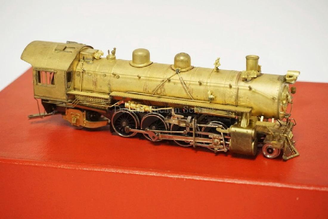VINTAGE LMB BRASS HO SCALE LOCOMOTIVE & TENDER. *UP - 3