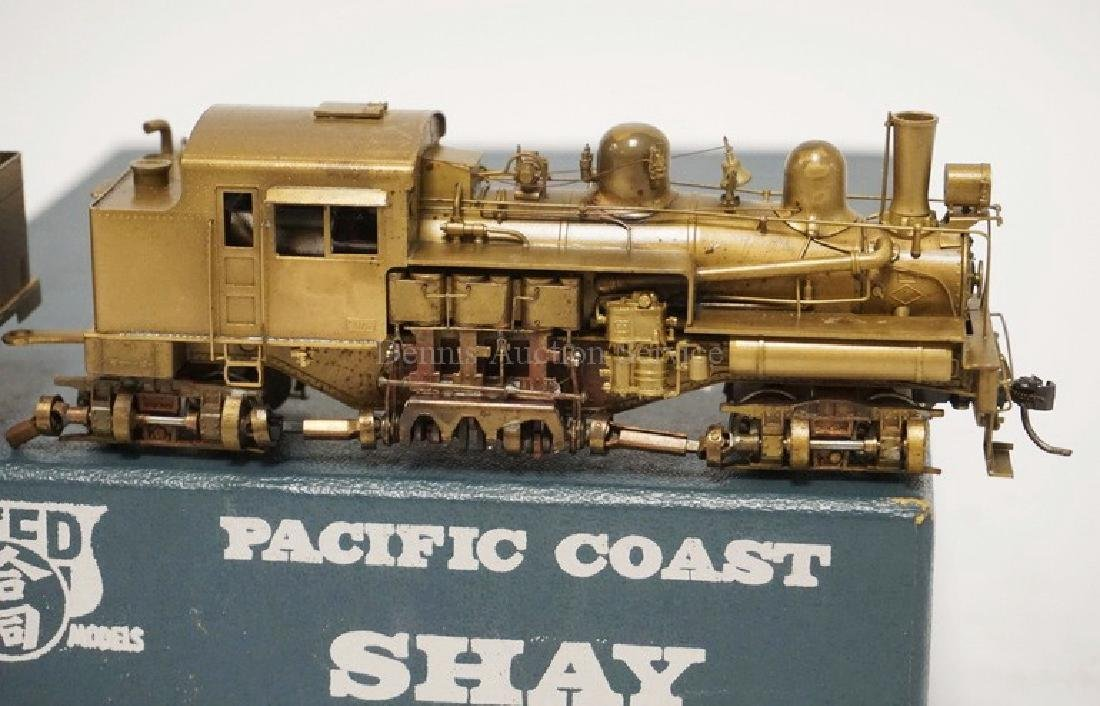 PFM UNITED *PACIFIC COAST SHAY* BRASS HO SCALE - 2