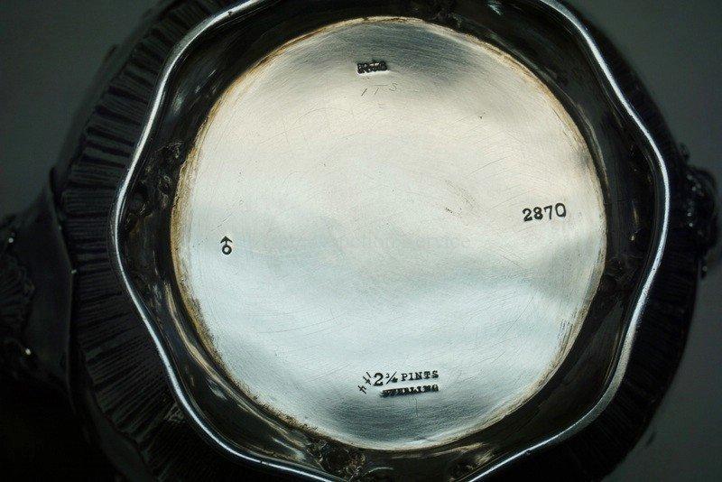 ANTIQUE GORHAM 4 PIECE TEA SET. RETAILED AT SPAULDING & - 4
