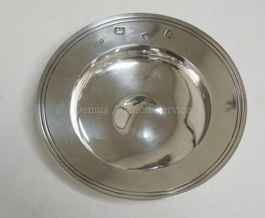 TIFFANY & CO STERLING SILVER DISH. LONDON HALLMARKS.