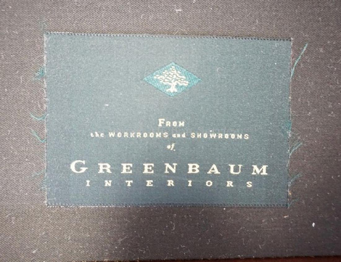 LEATHER LOUNGE CHAIR BY GREENBAUM. - 3