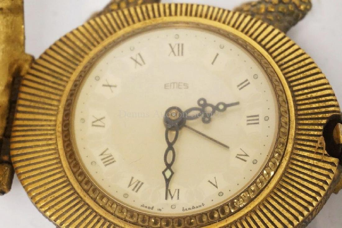 EMES GERMAN FIGURAL ALARM CLOCK IN THE FORM OF A - 2