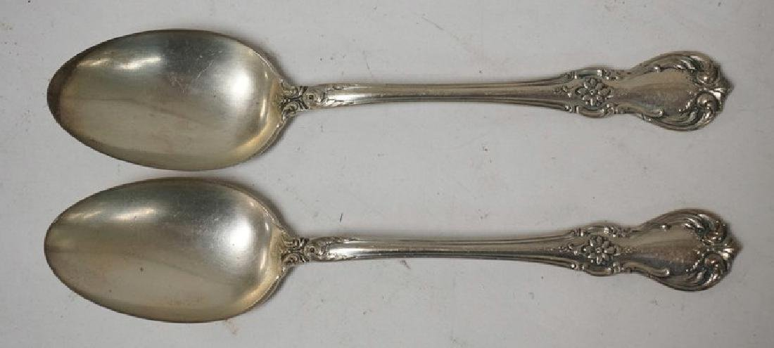 SET OF 12 TOWLE STERLING SILVER TEASPOONS MEASURING 5 - 2