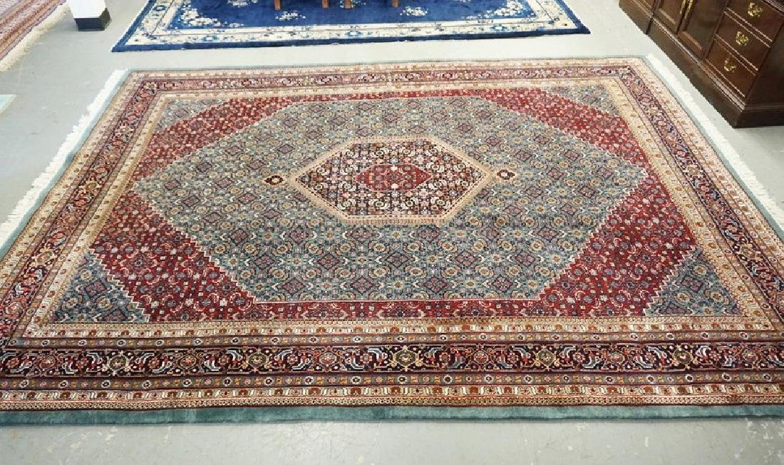 ROOM SIZE ORIENTAL RUG MEASURING 11 FT 10 INCHES X 8 FT