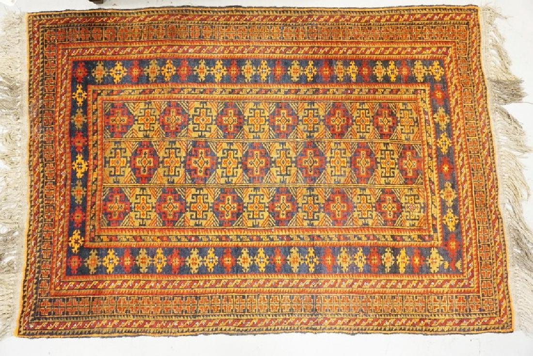 ANTIQUE ORIENTAL AREA RUG MEASURING 5 FT 8 INCHES X 4
