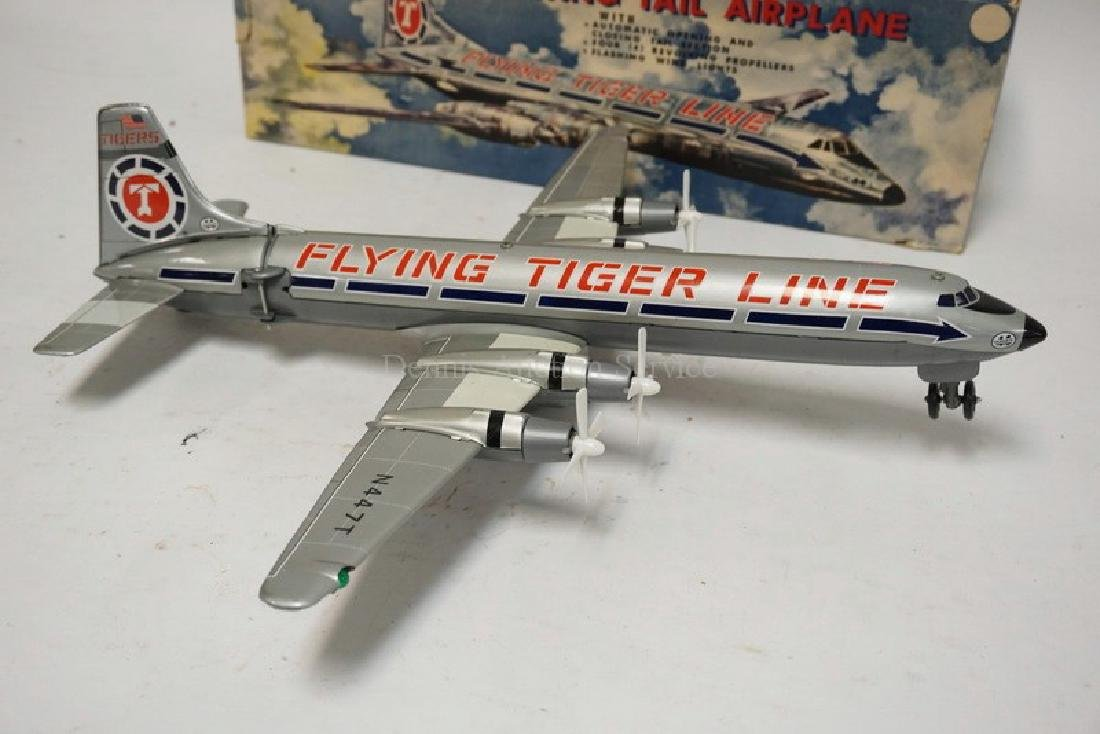 LOUIS MARX BATTERY OPERATED *FLYING TIGER LINE* SWING - 3