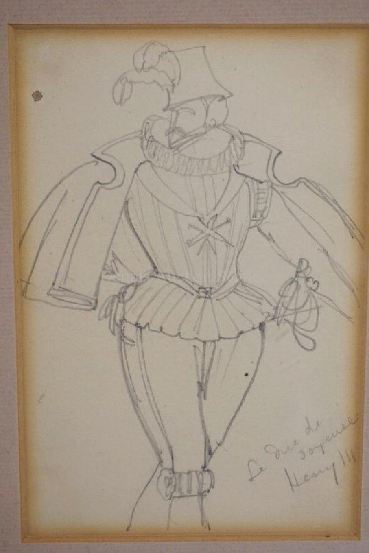 DANIEL MACLISE (1806-1870) PENCIL DRAWING OF A MAN IN - 2