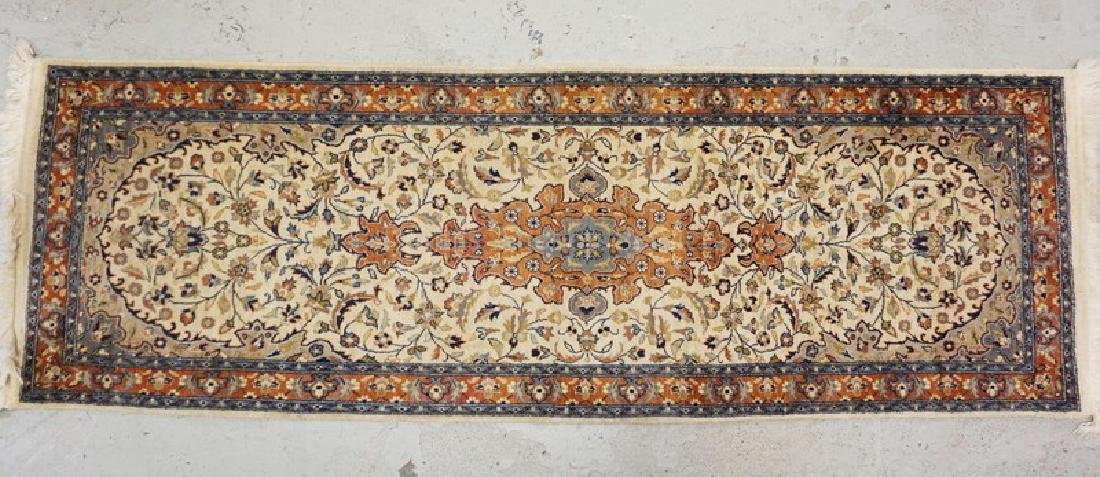SMALL ORIENTAL RUNNER MEASURING 6 FT 2 INCHES X 2 FT 1
