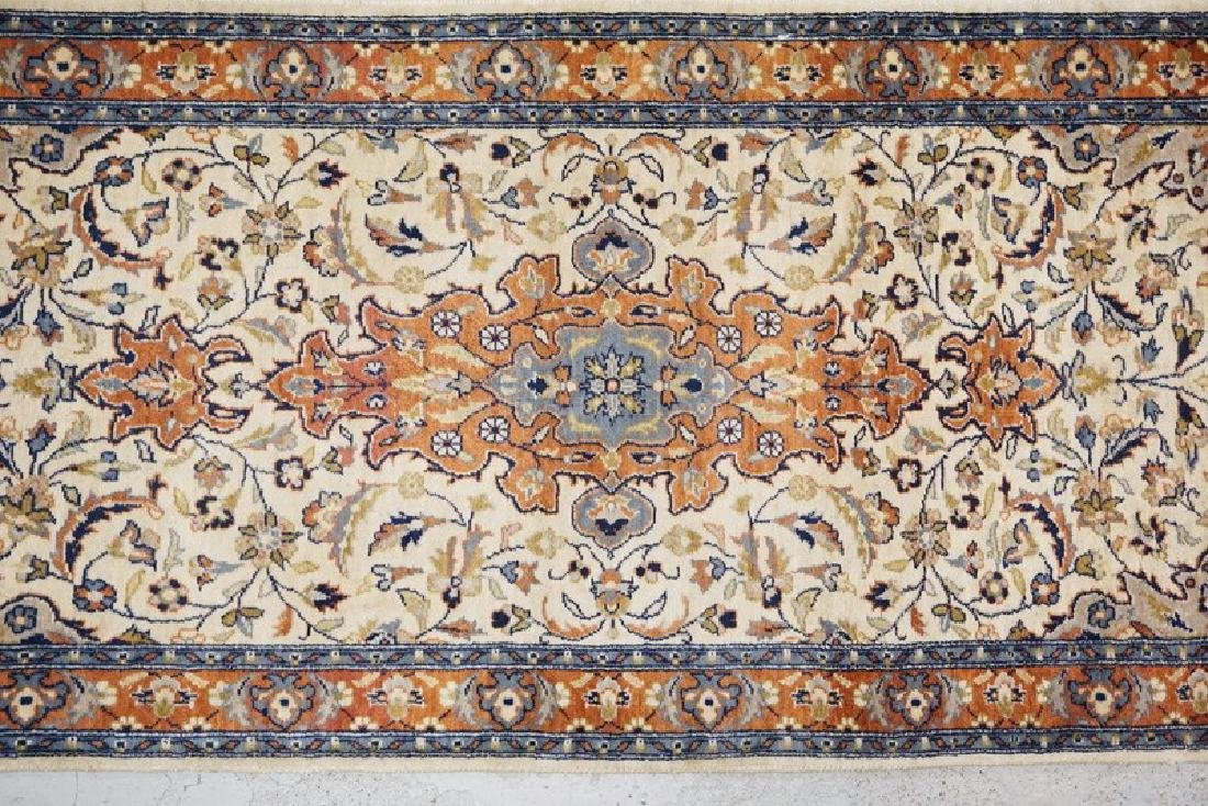 SMALL ORIENTAL RUNNER MEASURING 6 FT 2 INCHES X 2 FT 1 - 2