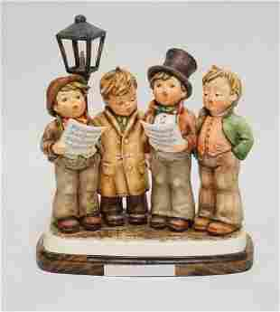 HUMEL *HARMONY IN FOUR PARTS* #471 PORCELAIN FIGURE. 9