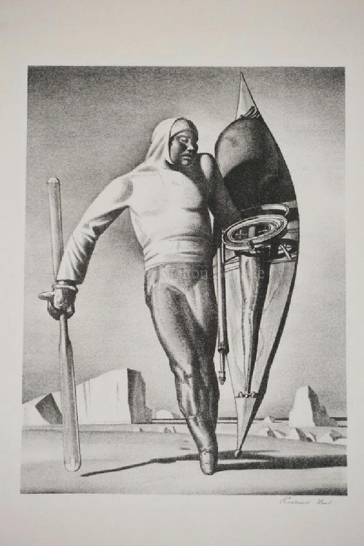 ROCKWELL KENT PENCIL SIGNED PRINT TITLED *GREENLAND