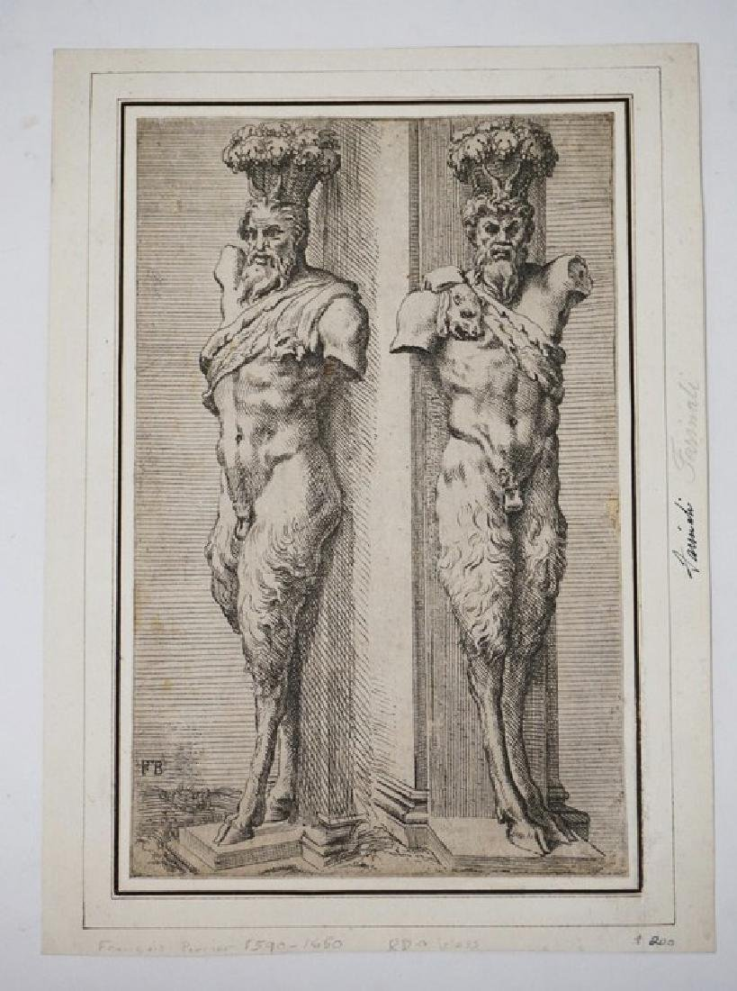 FRANCOIS PERRIER (1590-1650) AFTER FARINAFI ETCHING OF